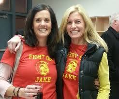 Wendy Cook with Central Catholic parent and event organizer, Gina ...