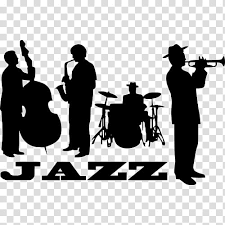 School Silhouette Musical Ensemble Jazz Band Wall Decal Trumpet Concert Trombone Mural Transparent Background Png Clipart Hiclipart