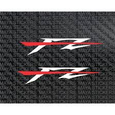 yamaha fz logo stickers and decal for