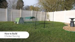 How To Assemble The Omlet Chicken Fencing L Omlet Pet Products Youtube