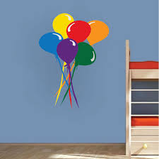 Balloons Decal Nursery Wall Decal Murals Primedecals