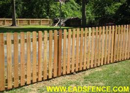 Ohio Fence Company Eads Fence Co Wood Picket Fences