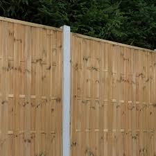 Forest 5 11 X 5 11 Vertical Hit And Miss Pressure Treated Fence Panel 1 8m X 1 8m Buy Fencing Direct