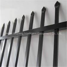 China 2 1x2 4m Portable Australia Galvanized Welded Spear Top Fencing Panel China Fence Steel Fence
