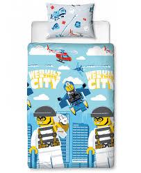 lego city on the run single duvet cover set