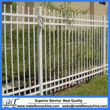 China Aluminum Wrought Iron Metal Steel Fence Decorative Backyard Garden Fence China Steel Fence Aluminum Fence