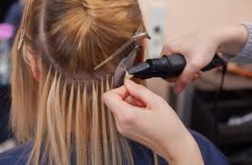 how to remove glued hair extensions