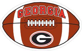 6 Georgia Brown Football Vinyl Decal Wesellspirit Com