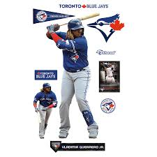Vladimir Guerrero Jr Toronto Blue Jays Fathead 10 Pack Life Size Removable Wall Decal