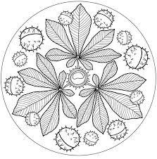 Albumarkiv Mandalas Herfst Herfst Knutselen En Mandala