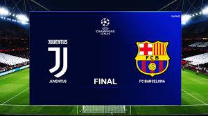 PES 2020 - Juventus vs Barcelona - UEFA Champions League Final UCL ...