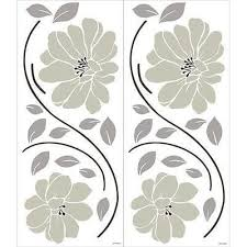 Gerber Daisies Wall Decal Ornamental Daisy Chain Floral Wall Stickers Home Decor Floral Wall Sticker Wall Decals Wall Stickers Home Decor