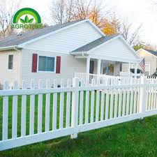 Garden Decoration Cheap White Pvc Picket Fence