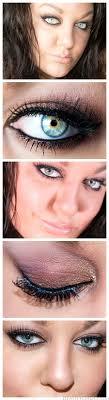valentine s day makeup smokey brown eyes