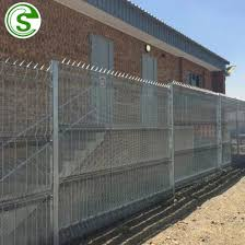 China Hot Dip Galvanized 358 High Security Anti Climb Fence For Airport China Perimeter Fence For Airport Clear View Fencing Galvanized