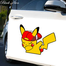 Pikachu Jdm Swag Funny Car Sticker D256 Car Stickers Aliexpress