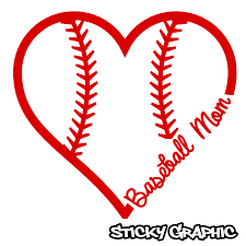 Baseball Mom 6 Die Cut Vinyl Decal Sold By Sticky Graphic On Storenvy