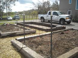 railroad ties ok for a raised bed