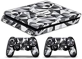Amazon Com Skin Ps4 Slim Camouflage Geometric Limited Edition Decal Cover Adesiva Playstation 4 Slim Sony Bundle Home Improvement