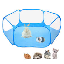 Pet Playpen Portable Pop Open Indoor Outdoor Small Animal Cage Tent Game Playground Fence For Hamste Shopee Philippines