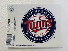 Minnesota Twins 3 X 4 Small Static Cling Logo Truck Car Auto Window Decal New 94746268190 Ebay