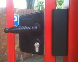 steel gate locks lock tec u k 01606