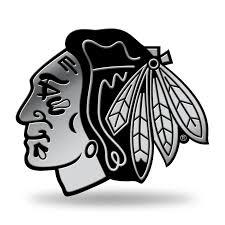 Chicago Blackhawks Logo 3d Chrome Decal Sticker New Truck Car Rico 94746935337 Ebay