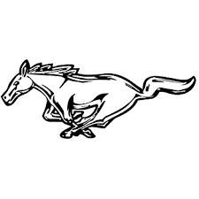 Amazon Com Mustang Logo Decal Sticker Peel And Stick Sticker Graphic Auto Wall Laptop Cell Truck Sticker For Windows Cars Trucks Automotive