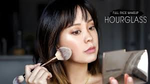 full face using hourgl makeup you