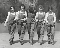 vintage overalls 1910s 1950s history