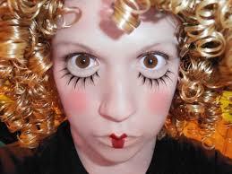 cly doll makeup a rag doll makeup