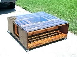 4 crate coffee table demako info