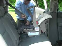car seat installation evenflo