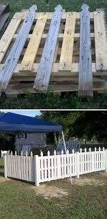 Old Pallet Fence This Is Going Around My Garden Perfect Now I Just Need Pallets Wood Pallet Fence Pallet Fence Pallets Garden