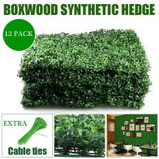 Sunshades Depot Artificial Boxwood Fence Privacy Screen Evergreen Hedge Panels For Sale Online Ebay