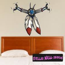 Native American Wall Decal Wall Fabric Repositionable Decal Vinyl Car Sticker Usc005