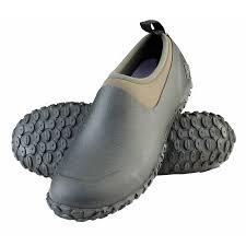 muckster ii waterproof shoe moss green
