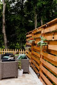 Stunning Diy Horizontal Slat Fence Lifestyle Fresh Mommy Blog