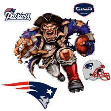 New England Patriots Fathead Powerhouse Patriot 5 Pack Removable Wall Decal Walmart Com Walmart Com