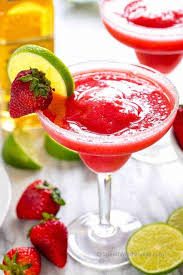 easy strawberry margaritas spend with