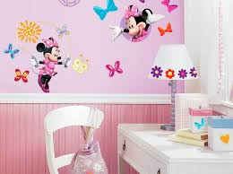 Daisy Name Wall Decal Minnie And Gerber Vinyl Art Big Black White Yellow Vamosrayos