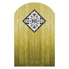 Pretty Wood Gate Garden Gates Iron Garden Gates
