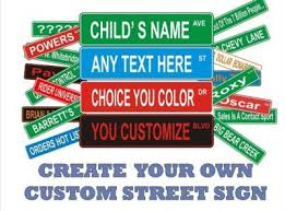Metal Street Sign Archives Krazy Signs Usa Inc