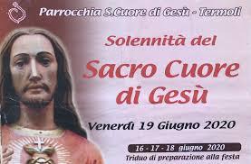 Solennità del Sacro Cuore di Gesù a Termoli: il programma - Diocesi di
