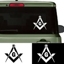 Sponsored Link Cars Reflective Sticker Decal Masonic Compass Freemason Square Truck Emblem New In 2020 Vinyl Car Stickers Car Window Stickers Vinyl For Cars