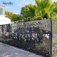 China Wholesale Large Size Modern Fence Wall Panels For Outdoor Use China Modern Fence Wall Panels And Aluminium Fence Price