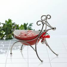 mikasa chrome reindeer candy bowl wayfair