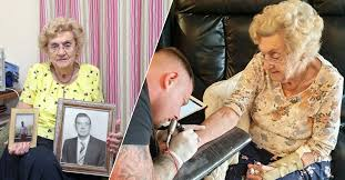 94-Year-Old Hilda West Gets Her First Tattoo - Tattoo Ideas, Artists and  Models