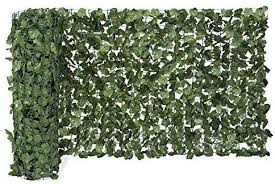 Amazon Com Best Choice Products 94x39in Artificial Faux Ivy Hedge Privacy Fence Wall Screen Leaf And Vi Landscaping Screen Lawn And Garden Artificial Hedges