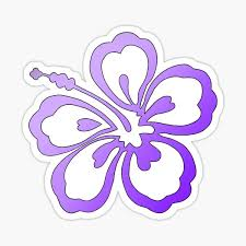 Hibiscus Stickers Redbubble